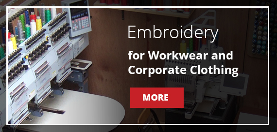Embroidery for Workwear & Corporate Clothing